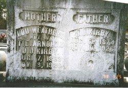 SarahAnn Louisa 'Lou' <i>Weathers</i> Arnold Kirby