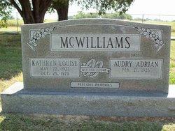 Kathryn <i>Johnson</i> McWilliams