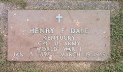 Corp Henry F. Dale