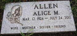 Alice M. Allen