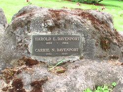 Carrie S. <i>Nichols</i> Davenport