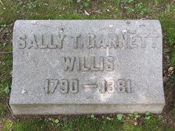 Sally Twyman <i>Garnett</i> Willis