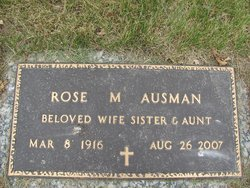 Rose M. <i>Johnston</i> Ausman