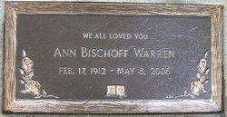 Ann <i>Teasdale</i> Bischoff Warren