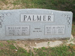 Wilma Mae <i>McAngus</i> Palmer