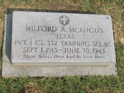 Milford Alexander McAngus