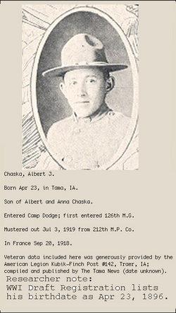 Albert J Chaska