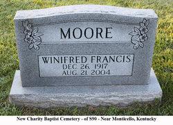 Winifred Florence <i>Francis</i> Moore