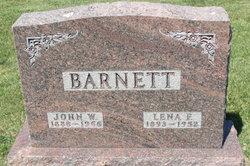 Lena F <i>Pribble</i> Barnett