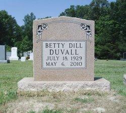 Betty Lou <i>Dill</i> Duvall
