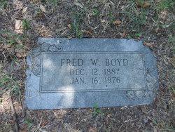 Fred Woodson Boyd