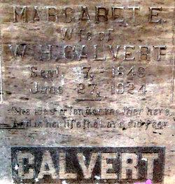 Margaret E Maggie <i>Burden</i> Calvert