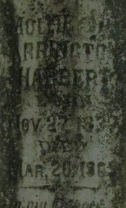 Mollie E. <i>Smith</i> Arrington Harbert