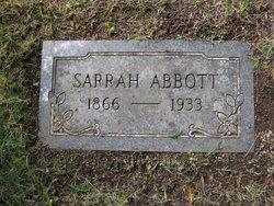 Sarrah Abbott