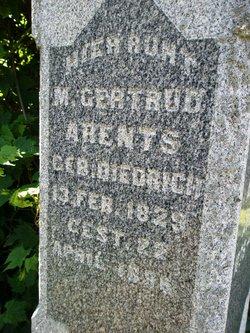 Maria Gertrude <i>Dietrich</i> Ahrends