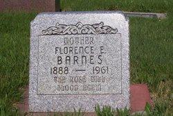 Florence E Barnes