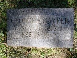 George E Gayfer