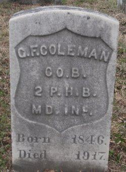 Garrett F. Coleman