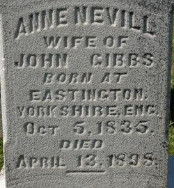 Anne <i>Nevill</i> Gibbs