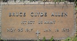 Bruce Clyde Allen