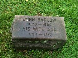 Sarah Ann <i>Rutter</i> Barlow