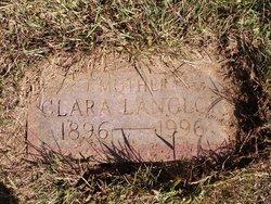 Clara Mary <i>Langlois</i> Boyer