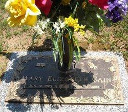 Mary Elizabeth <i>Shugart</i> Cain