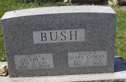 Mary <i>Cowan</i> Bush