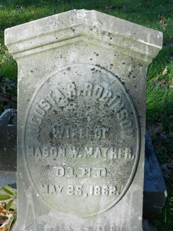 Augusta R. <i>Robinson</i> Mather