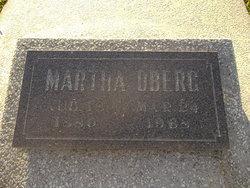 Martha Jane <i>Maxson</i> Oberg