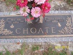 Vera <i>Jones</i> Choate