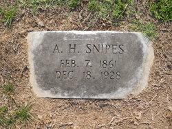 Alvis Henry Snipes