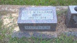 Lizzie W <i>Faulkner</i> Busby