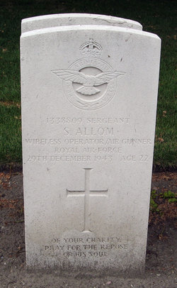 Sergeant ( W.Op./Air Gnr. ) Sidney S Allom
