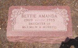 Bettie Amanda Merrell