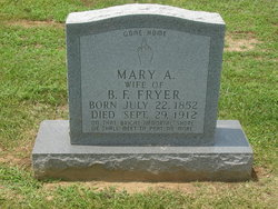Mary Ann <i>Alvey</i> Fryer
