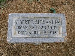 Albert E. Alexander