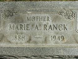 Marie A <i>Schimpf</i> Ranck