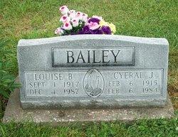 Louise B. <i>Wood</i> Bailey