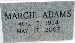 Margie <i>Guidry</i> Adams