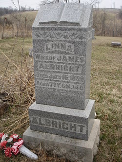 Linna Jane Linnie <i>Lantz</i> Albright