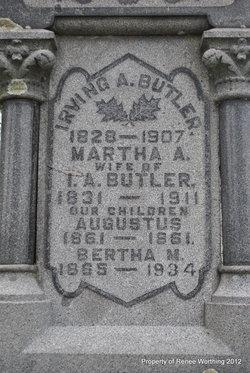 Martha A <i>Merrill</i> Butler