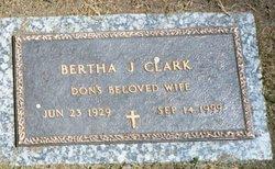 Bertha Josephine Bertie Jo <i>Duree</i> Clark