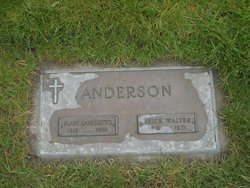 Erick Walter Walt Anderson