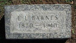 Edward Lee Ed Barnes