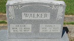 Walter Franklin Frank Walker