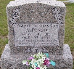 Tommye <i>Williamson</i> Alfonso