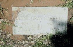 Bess Bessie <i>Gray</i> Garrett