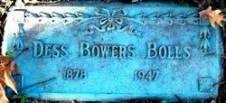 Dess <i>Bowers</i> Bolls