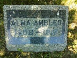 Alma <i>Pumphrey</i> Ambler